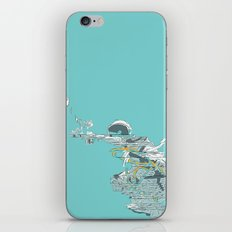 Seafoam Astronaut iPhone & iPod Skin
