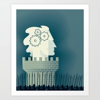 Defending Intellectual P… Art Print