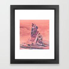 TECHNICOLOR TAR PITS (10… Framed Art Print