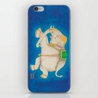Happy Dreamtime Elephant iPhone & iPod Skin