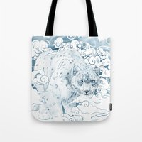Ghost Cat Tote Bag