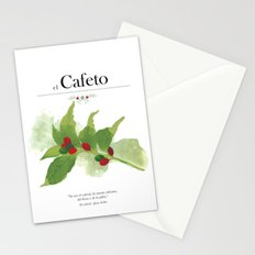 el Cafeto (coffee plant) Stationery Cards