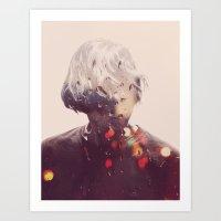 Showers (Double Exposure… Art Print