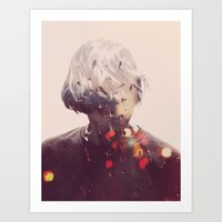 Showers (Double Exposure… Art Print