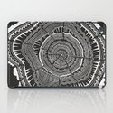 Growth Rings – 65 Years – Black iPad Case