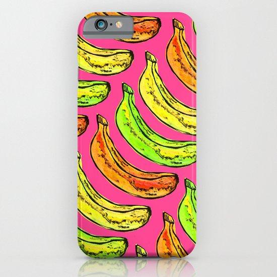 Banana pattern iPhone & iPod Case
