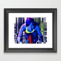 Spin2 Framed Art Print