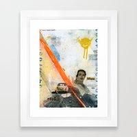 VACANCY Zine Framed Art Print