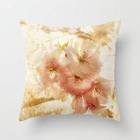 Blossom Crush Throw Pillow