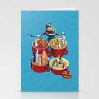Fish Soup Stationery Cards