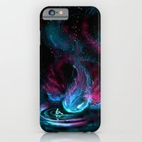 iPhone Cases featuring The Visitor by Alice X. Zhang