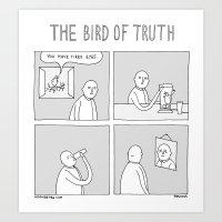 Moonbeard - The Bird Of … Art Print