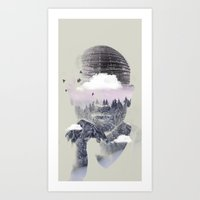 Contemplating Dome Art Print