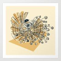 Home Run (August 11th, 1… Art Print