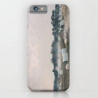 Burning Old Straw Beddin… iPhone 6 Slim Case