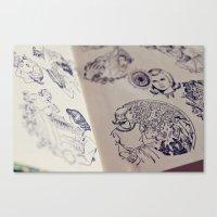 Nancy Drew Canvas Print