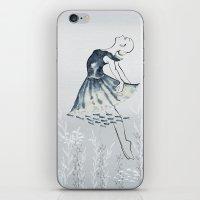 nightswimming iPhone & iPod Skin