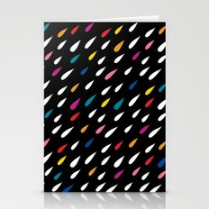 Bright Droplets Stationery Cards