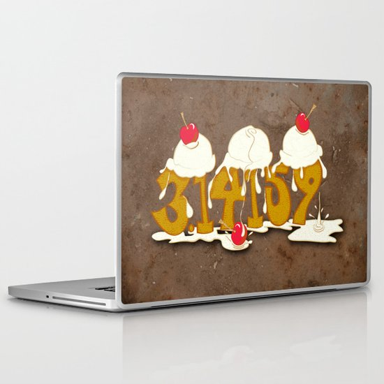 A Scoop of Pi Laptop & iPad Skin