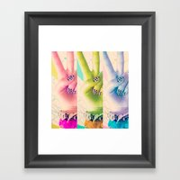 Peace be with You Framed Art Print