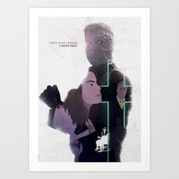 True Detective - Haunted… Art Print