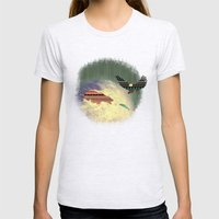 Pattern Survival Womens Fitted Tee Ash Grey SMALL
