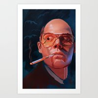 Fear & Loathing Art Print
