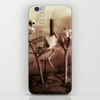 Ladder to the Sky iPhone & iPod Skin