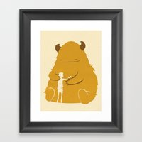 Everything Will Be Alrig… Framed Art Print