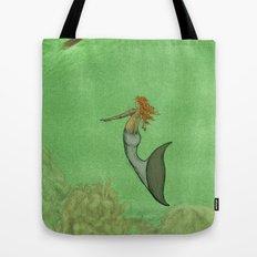 The Golden Mermaid Tote Bag