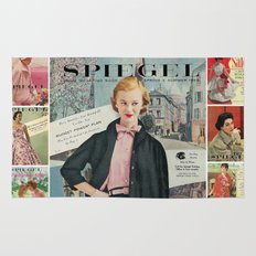 1955 Spring/Summer Catalog Cover Rug