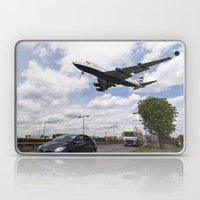 British Airways Boeing 747 London Heathrow Laptop & iPad Skin