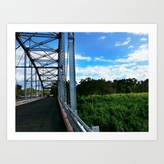 Old Añasco Bridge Art Print