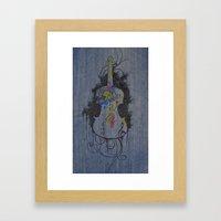 Color Is Music Framed Art Print