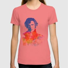 Sherlock Womens Fitted Tee Pomegranate SMALL