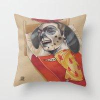 FIRE MARSHALL Throw Pillow