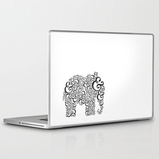Ampersand Elephant Laptop & iPad Skin
