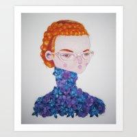 Recato/Demureness Art Print