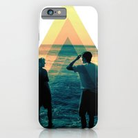 iPhone & iPod Case featuring Shape of the ocean by Aecho