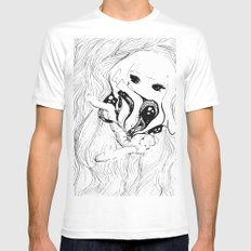 Eye spell attack Mens Fitted Tee SMALL White