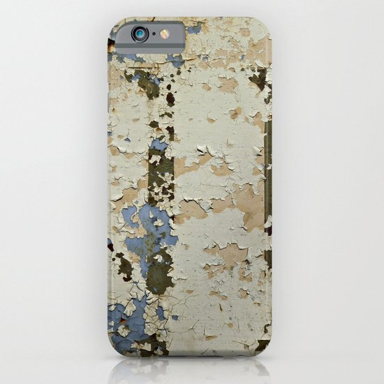 IF a Picture Paints -- Peeling Paint and Rust Texture Abstract iPhone & iPod Case