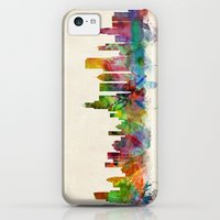 iPhone 5c Cases featuring Chicago City Skyline by artPause