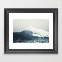 Sea Wave Framed Art Print