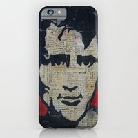 iPhone & iPod Case featuring Jack Kerouac: Get On The Beat  by Emily Storvold