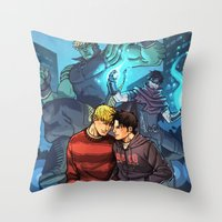 Theodore And William 13 Throw Pillow