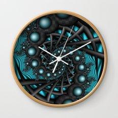 Cyber Wave Wall Clock