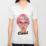 Unisex V-Neck featuring Cool Redux by Giulio Rossi