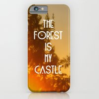 iPhone & iPod Case featuring The forest by AA Morgenstern