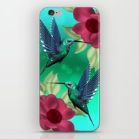 Humming Bird IPhone Case iPhone & iPod Skin