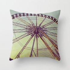 Le Roue Paris Throw Pillow